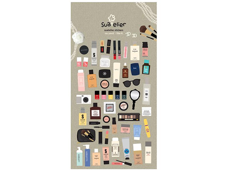Acheter Stickers jolie cosmétique - 2,49€ en ligne sur La Petite Epicerie - Loisirs créatifs