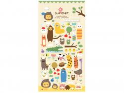 Acheter Stickers animaux de la ferme rigolos - 2,49€ en ligne sur La Petite Epicerie - Loisirs créatifs