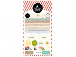 Acheter Stickers mots doux et remerciements - 3,09€ en ligne sur La Petite Epicerie - Loisirs créatifs