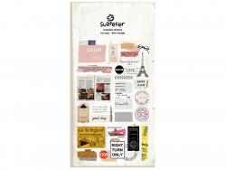 Acheter Stickers «bon voyage!» - 3,09€ en ligne sur La Petite Epicerie - 100% Loisirs créatifs