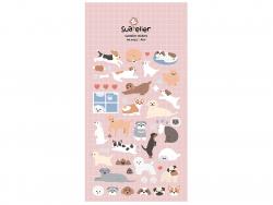 Acheter Stickers adorables chiens - 2,49€ en ligne sur La Petite Epicerie - Loisirs créatifs