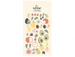 Acheter Stickers fruits frais - 2,49€ en ligne sur La Petite Epicerie - 100% Loisirs créatifs