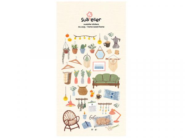 Acheter Stickers «home sweet home» - 2,49€ en ligne sur La Petite Epicerie - Loisirs créatifs