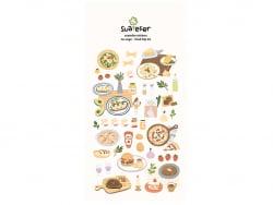 Acheter Stickers food trip en Italie - 2,49€ en ligne sur La Petite Epicerie - Loisirs créatifs