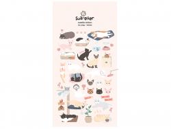 Acheter Stickers chats mignons - 2,49€ en ligne sur La Petite Epicerie - 100% Loisirs créatifs