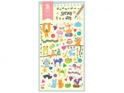 Acheter Stickers animaux rigolos - 2,49€ en ligne sur La Petite Epicerie - Loisirs créatifs