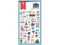 Acheter Stickers «bonjour Paris!» - 2,49€ en ligne sur La Petite Epicerie - 100% Loisirs créatifs