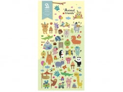 Acheter Stickers animaux mignons - 2,49€ en ligne sur La Petite Epicerie - Loisirs créatifs