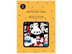Acheter Stickers pandas en folie - 4,69€ en ligne sur La Petite Epicerie - Loisirs créatifs