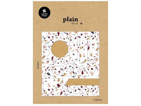 Acheter 20 stickers formes géométriques - 1,59€ en ligne sur La Petite Epicerie - Loisirs créatifs