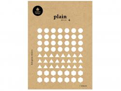 Acheter 2 feuilles de stickers géométriques brillants - 1,59€ en ligne sur La Petite Epicerie - Loisirs créatifs