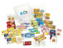 Acheter Grosse boîte contenant 40 miniatures d'aliments pour jouer à l'épicier - 11,99€ en ligne sur La Petite Epicerie - 10...