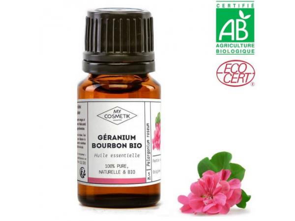 Acheter Huile essentielle de Géranium bourbon BIO-5 ml - 5,59€ en ligne sur La Petite Epicerie - Loisirs créatifs