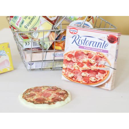 Acheter Carton pizza avec pizza en plastique - 3,49€ en ligne sur La Petite Epicerie - Loisirs créatifs