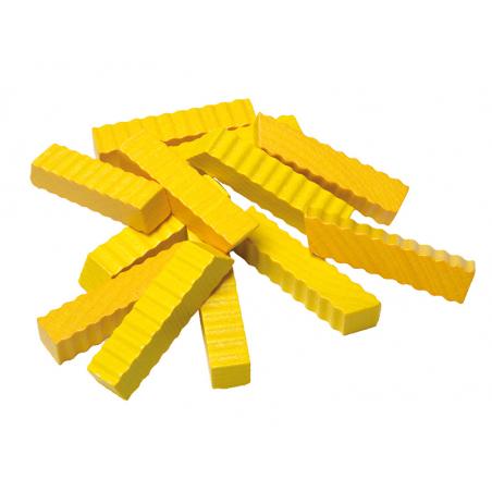 Acheter lot de 12 frites - jouets en bois pour dinette - 3,99€ en ligne sur La Petite Epicerie - 100% Loisirs créatifs