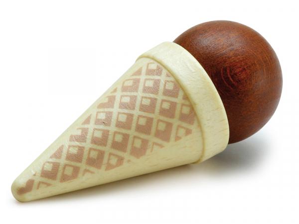 Acheter Glace au chocolat - jouet en bois pour dinette - 2,99€ en ligne sur La Petite Epicerie - 100% Loisirs créatifs