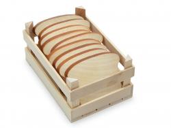 Acheter Tranche de pain de mie - jouet en bois pour dinette - 0,99€ en ligne sur La Petite Epicerie - Loisirs créatifs