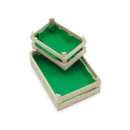 Acheter Petite cagette en bois pour fruits et légumes miniatures - 3,99€ en ligne sur La Petite Epicerie - Loisirs créatifs