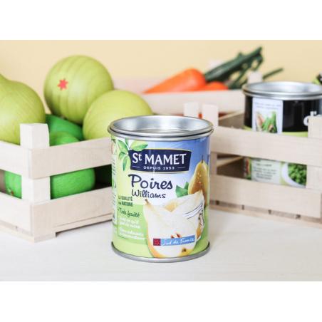 Acheter Poire verte - jouet fruit en bois pour dinette - 1,99€ en ligne sur La Petite Epicerie - Loisirs créatifs