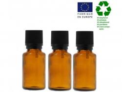 Acheter Lot de 3 flacons 30 ml en verre avec codigoutte - 3,29€ en ligne sur La Petite Epicerie - 100% Loisirs créatifs