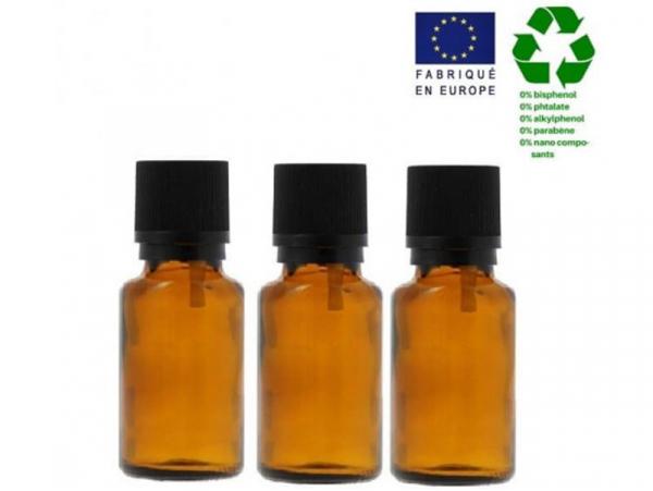 Acheter Lot de 3 flacons 30 ml en verre avec codigoutte - 3,29€ en ligne sur La Petite Epicerie - Loisirs créatifs