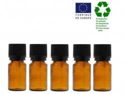 Acheter Lot de 5 flacons 5 ml en verre avec codigoutte - 3,29€ en ligne sur La Petite Epicerie - 100% Loisirs créatifs