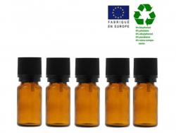 Acheter Lot de 5 flacons 10 ml en verre avec codigoutte - 3,29€ en ligne sur La Petite Epicerie - 100% Loisirs créatifs