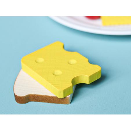Acheter Fromage / gruyère - jouet en bois pour dinette - 0,99€ en ligne sur La Petite Epicerie - 100% Loisirs créatifs