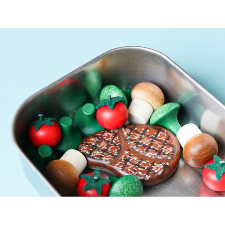 Acheter Steak - jouet en bois pour dinette - 3,99€ en ligne sur La Petite Epicerie - 100% Loisirs créatifs