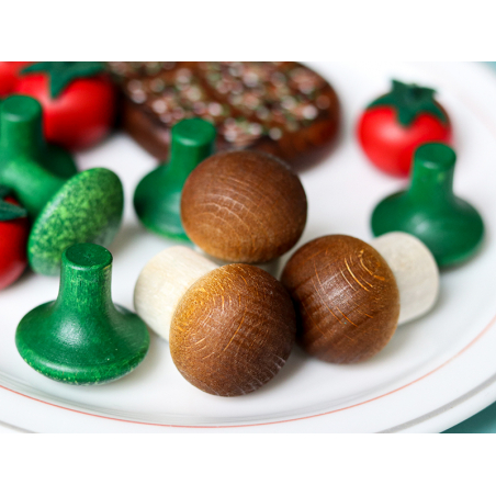 Acheter Champignon - jouet fruit en bois pour dinette - 1,50€ en ligne sur La Petite Epicerie - 100% Loisirs créatifs