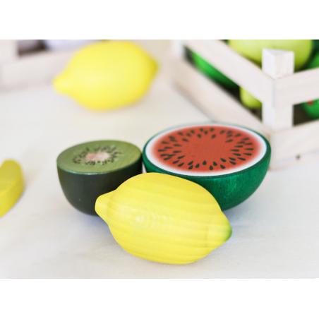 Acheter Citron - jouet fruit en bois pour dinette - 1,99€ en ligne sur La Petite Epicerie - 100% Loisirs créatifs