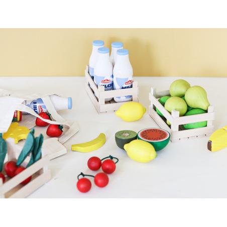 Acheter Tomate - jouet fruit en bois pour dinette - 1,99€ en ligne sur La Petite Epicerie - Loisirs créatifs