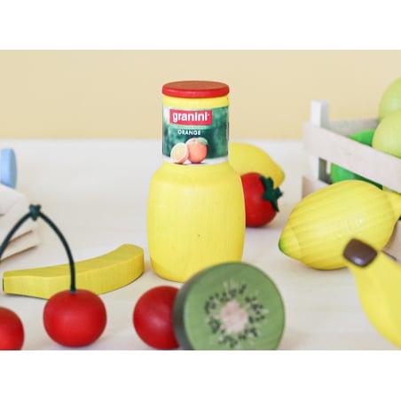 Acheter Demi kiwi - jouet fruit en bois pour dinette - 1,99€ en ligne sur La Petite Epicerie - 100% Loisirs créatifs