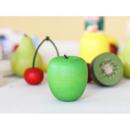Acheter Pomme verte - jouet fruit en bois pour dinette - 1,99€ en ligne sur La Petite Epicerie - Loisirs créatifs