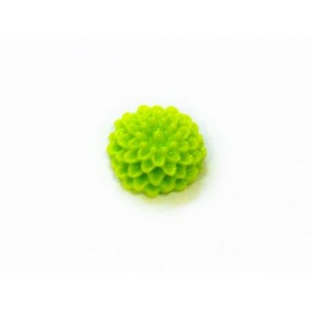 Acheter 1 Mini cabochon fleur - vert pomme - 0,39€ en ligne sur La Petite Epicerie - Loisirs créatifs