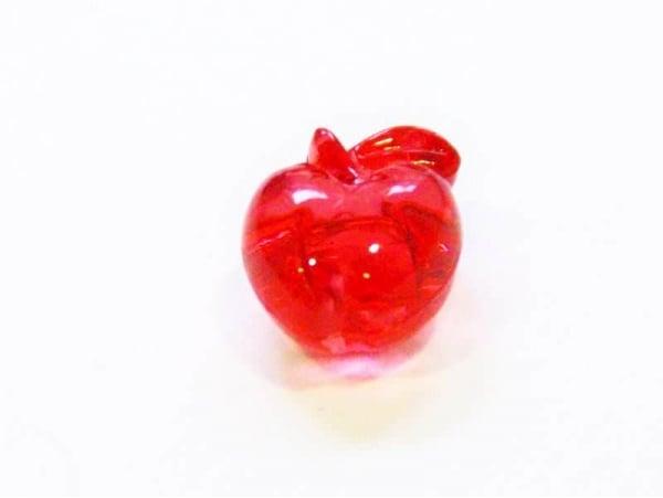 Acheter 1 perle pomme rouge translucide - 0,19€ en ligne sur La Petite Epicerie - Loisirs créatifs