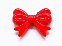 1 big acrylic bow - Red