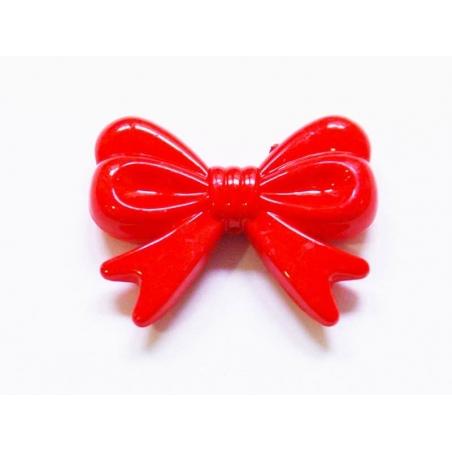 1 big acrylic bow - Red