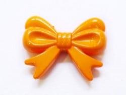 1 grand noeud en acrylique - orange