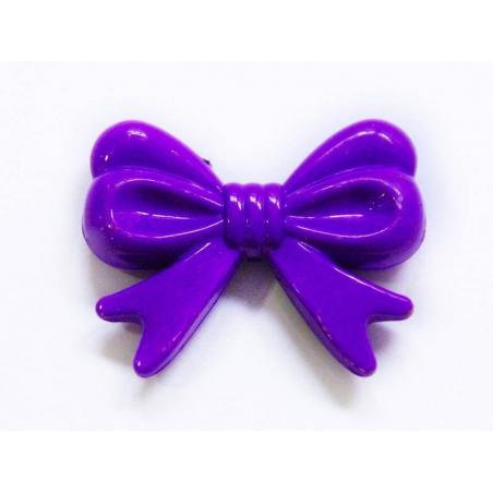 Acheter 1 grand noeud en acrylique - violet - 1,66€ en ligne sur La Petite Epicerie - Loisirs créatifs