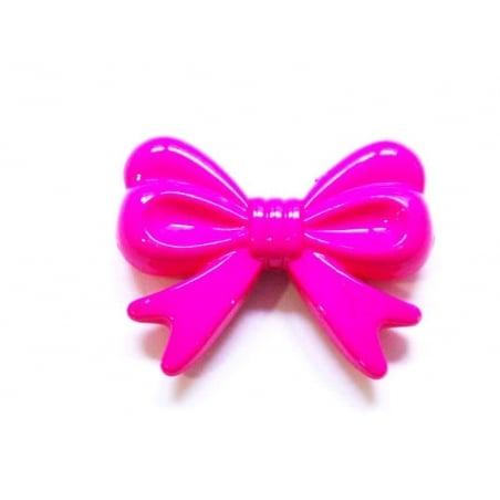 Acheter 1 grand noeud en acrylique - rose fushia - 1,99€ en ligne sur La Petite Epicerie - Loisirs créatifs