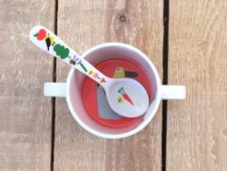 Acheter Petite cuillère pour bébé - la campagne - 1,89€ en ligne sur La Petite Epicerie - Loisirs créatifs