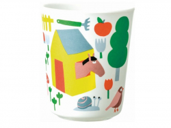 Acheter Timbale / verre pour bébé en mélamine - la campagne - 4,89€ en ligne sur La Petite Epicerie - 100% Loisirs créatifs
