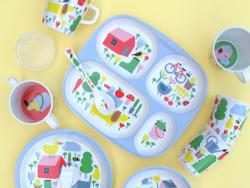 Acheter Set de 2 couverts pour bébé- la campagne - 6,71€ en ligne sur La Petite Epicerie - 100% Loisirs créatifs