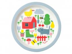Acheter Assiette pour bébé - la campagne -  diamètre 18 cm - 7,26€ en ligne sur La Petite Epicerie - Loisirs créatifs