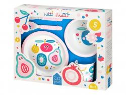 Acheter Coffret cadeau de vaisselle pour bébé - 5 pièces - tutti frutti - 29,99€ en ligne sur La Petite Epicerie - Loisirs c...