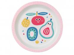 Acheter Assiette bébé tutti frutti - 18 cm - 7,49€ en ligne sur La Petite Epicerie - 100% Loisirs créatifs