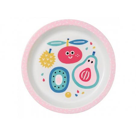 Acheter Assiette bébé tutti frutti - 18 cm - 7,49€ en ligne sur La Petite Epicerie - Loisirs créatifs