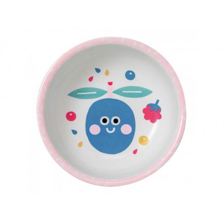 Acheter Bol pour bébé en mélamine - tutti frutti - bords rose - 5,72€ en ligne sur La Petite Epicerie - 100% Loisirs créatifs