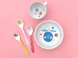 Acheter Bol pour bébé en mélamine - tutti frutti - bords rose - 5,72€ en ligne sur La Petite Epicerie - Loisirs créatifs